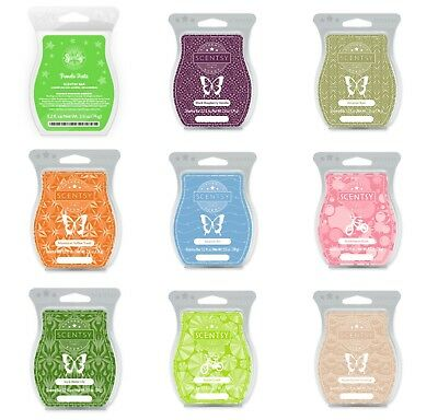 Scentsy Bars ~ 3.2oz ~ Scented wax melts N - Z