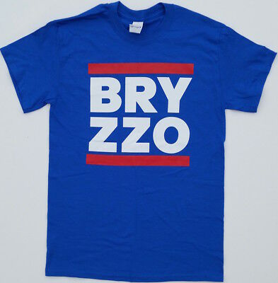 separation shoes 6d16c 97cf4 NEW CHICAGO CUBS Wrigley BRYZZO T-shirt Kris Bryant Anthony Rizzo ( Sm -  3Xlg )
