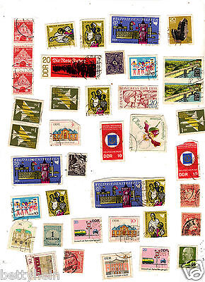 Lot of Stamps from GERMANY - minimum of 45 years old