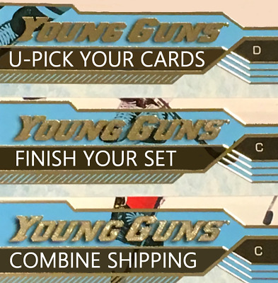 2016-17 Young Guns *FINISH YOUR SET* Series 1 & 2 Update Rookie UD YG RC U-PICK