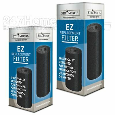 2x Still Spirits EZ Filter Carbon Cartridge replacement