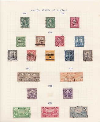 USA stamp collection