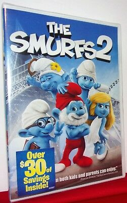 The Smurfs 2 - Dvd - Brand New - Factory Sealed - Free Shipping