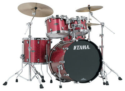 "TAMA Starclassic Performer PP42S-CRD Drumset  22""/10""/12""/16"" Coral Red Sparkle"