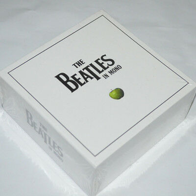 The Beatles In Mono Masters--13 Cd In Mono White Box Set--Rare & Factory Sealed