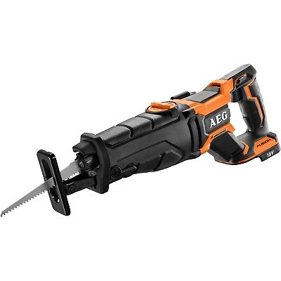 AEG 18V FUSION Brushless Reciprocating Saw With Orbital Action Skin Only. NEW