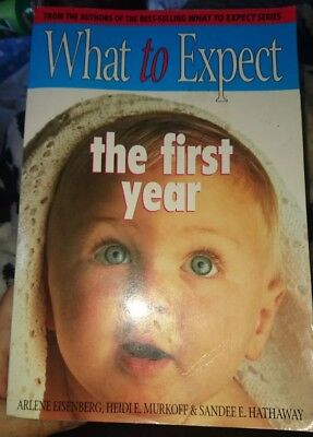 What to Expect the first year paperback book pregnancy baby
