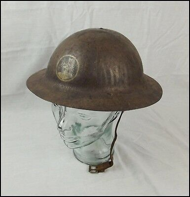 WW1 British Army War Office Pattern Brodie Helmet