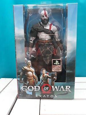 "KRATOS GOD OF WAR 2018 NECA 7"" SCALE ACTION FIGURE Brand New/Sealed!"