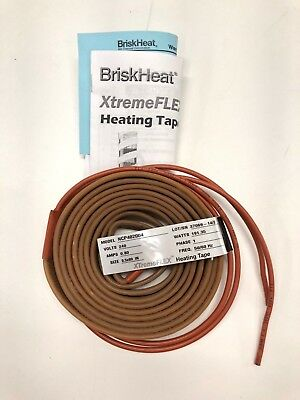 "89"" HEATING TAPE BriskHeat / NorCal  XTREME FLEX  NCP402004  240 Volts"