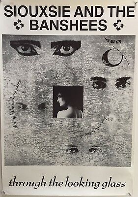 Vintage Siouxsie and the Banshees 1987 Through the Looking Glass Poster