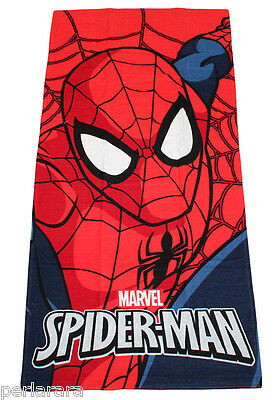TELO MARE BAMBINO SPIDERMAN MARVEL by BASSETTI CM 75 x 150 SPIDER MAN COTONE M48