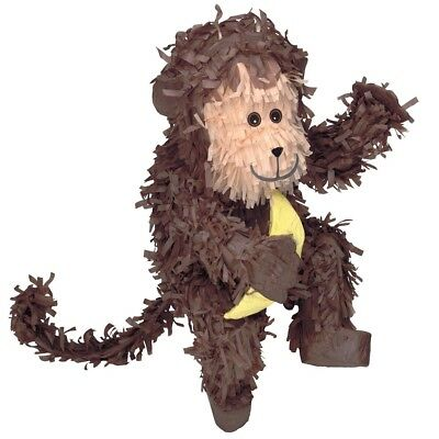 Monkey Shaped Pinata Party Game Decoration