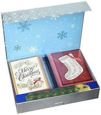 Hallmark Christmas Handmade Boxed Assorted Greeting Cards Set Pack Of 24