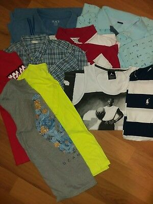 Boys clothes lot size 10-12 lot of 9