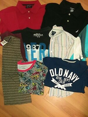 Boys clothes  size 10-12, med/small lot of 9