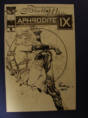 Aphrodite IX #1 Sketch Variant Signed By David Finch
