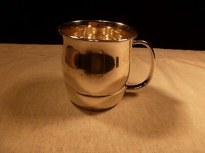Unusual Towle Silversmiths Sterling Silver Baby Cup No Monogram Made In Usa