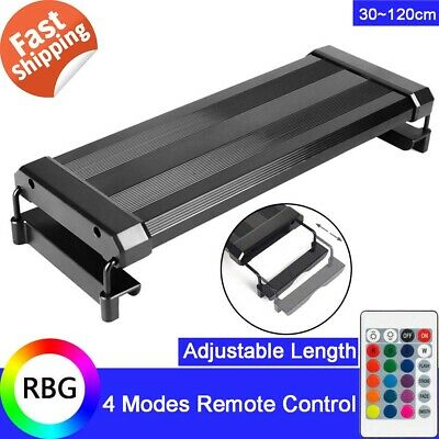 30-140cm RGB Aquarium LED Light Lighting Full Spectrum Aqua Plant Fish Tank Lamp