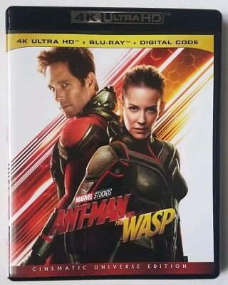 Ant-Man and the Wasp (4K Ultra HD Blu-ray Disc ONLY, 2018)