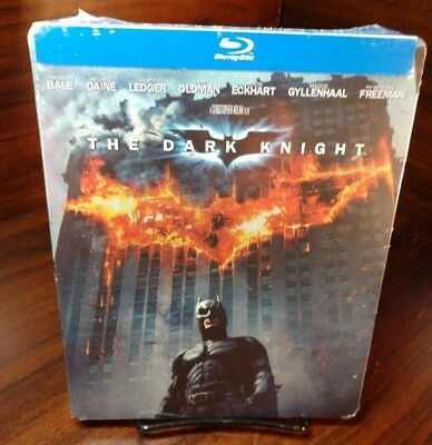 The Dark Knight Steelbook(Blu-ray Disc, 2013)NEW(Sealed)Free S&H with Tracking