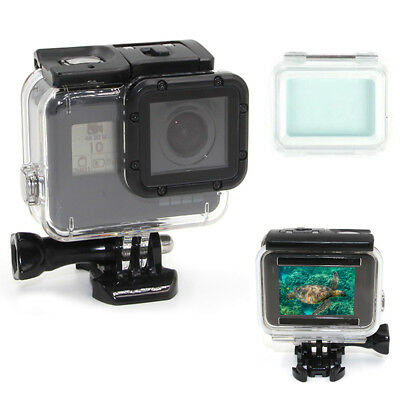 New For GoPro Hero 5 6 Waterproof Diving Housing Protective Case Super Suit