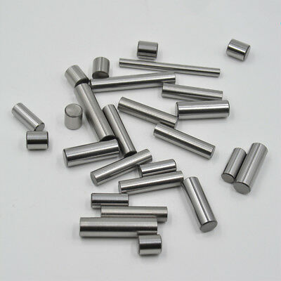 100pc OD 3mm Stainless Steel Dowel Pins Fasten Elements long 6 to 60mm