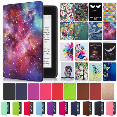 "For All-New Kindle Paperwhite 2018 6"" 10th Gen Case Smart Pattern Leather Cover"