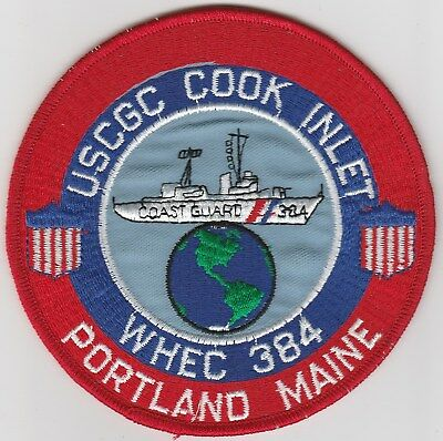 Chicks Dig Coasties brown hair W4608 USCG Coast Guard patch valley girls