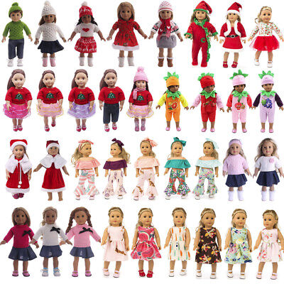 """Doll Clothes Pants Dress Accessory For 18"""" American Doll Toy Christmas Gift b"""