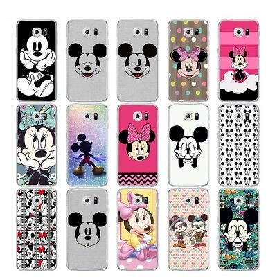 Mickey Mouse Soft Silicone Case Cover For Samsung Galaxy Note S 3 4 5 6 7 8 9