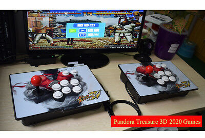 New 2020 Games Separable Pandora Box 3D Video Games Arcade Console Machine 1080P