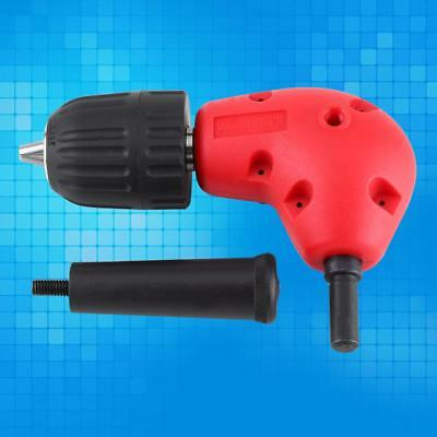 New Right Angle Drill Attachment 90 Degree Handle Adaptor with keyless Chuck 1PC