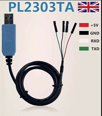 USB PL2303TA TTL to RS232 Converter Serial Cable module for win 8 XP 7 8.1 10 MO