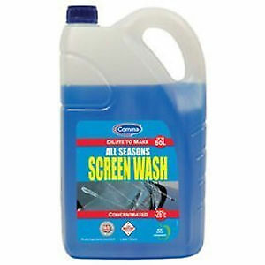 Comma Concentrated Screen Wash / Antifreeze SW5L 5 Litre SPECIAL PROM SCREENWASH