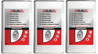 Holts Brake parts clutch Cleaner Professional 15L Litre tin 100% pure solvent
