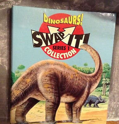 Dinosaurs Swap It Collection Series One Collection with Folder