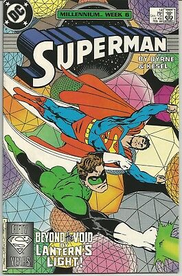 Superman #14 : Vintage DC Comic from February 1988