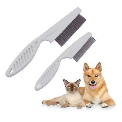 Pet Dog Cat Metal Teeth Brush Trimmer Grooming Hair Shedding Comb Rake Cleaner