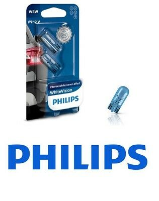 W5W PHILIPS WhiteVision Intense white xenon effect 12961NBVB2