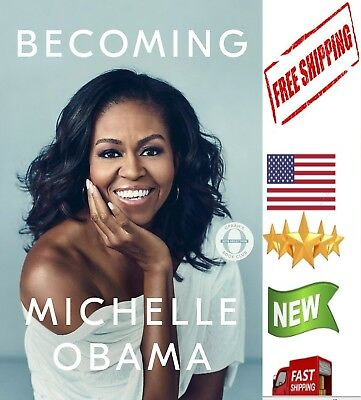 BECOMING by MICHELLE OBAMA- Hardcover-NEW 2018