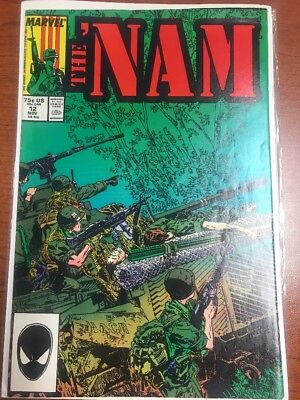 The 'Nam #12 (Nov 1987, Marvel) Comic Book WoW Visit Store FAST SHIPPING!!!