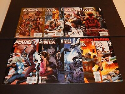 Ultimate Power # 1-9  Complete Set Spider-Man X-Men Nm  2006