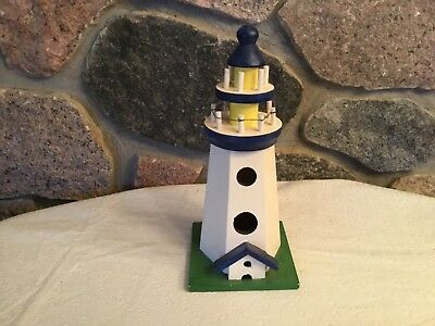 Wooden Lighthouse Replica for Display