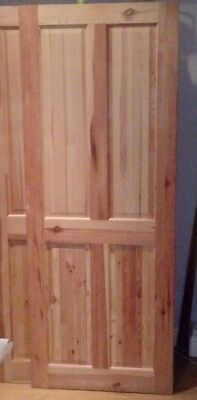 2 Pine Internal Doors Solid Knotty Pine Victorian Style No Finish for Own Style & 2 PINE INTERNAL Doors Solid Knotty Pine Victorian Style No Finish ...