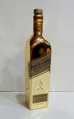 JOHNNIE WALKER EMPTY GOLD LABEL RESERVE SCOTCH WHISKY LIMITED BOTTLE 700ml