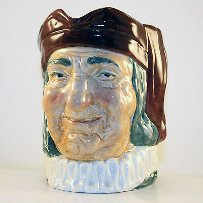 "Royal Doulton Character Toby Jug: ""Simon The Cellarer"" - Large"