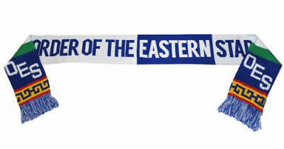 Order of the Eastern Star OES Acrylic Scarf-New!