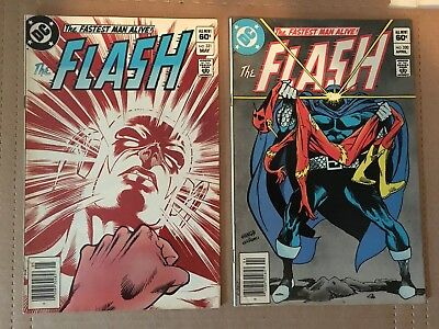 Flash 320 & 321 FN Condition 1983 DC Comic Book Lot