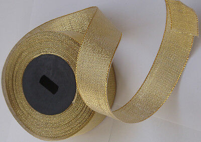 CHRISTMAS GIFT WRAPPING Ribbon Sheer Metallic Organza Tissue Sparkly Glitter 20M